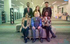 Model UN Team: Abou Traore, Cynthia Criollo, Hassan Farhad, Sokhna Diarra Fall, Dean Joseph Caniglia and Tannia Maradiaga.