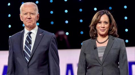 President-elect Joe Biden alongside Vice President-elect Kamala Harris / Flickr